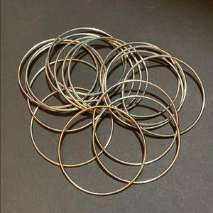 thin metal bracelets